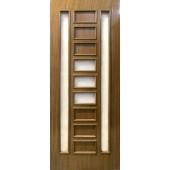 Шпонированная дверь Модель 48 шпон орех