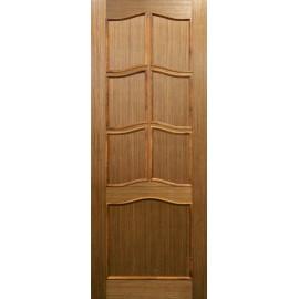 Шпонированная дверь Модель 11 (ПГ) шпон Орех