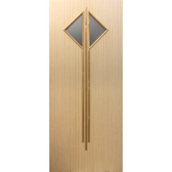 Шпонированная дверь Модель 47 шпон выбеленный Дуб
