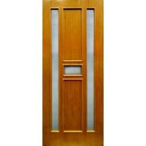 Шпонированная дверь Модель 49 шпон светлая вишня