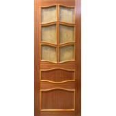 Шпонированная дверь Модель 15(Ф) шпон светлая вишня