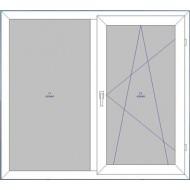Двухстворчатое окно (1)